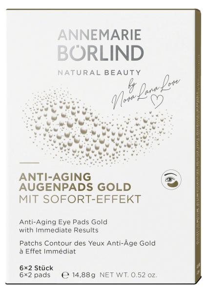 ANNEMARIE BÖRLIND ANTI-AGING AUGENPADS GOLD MIT SOFORT-EFFEKT